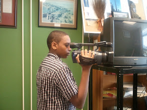 Photo: camerman Miles in the making :-)  4/1/12