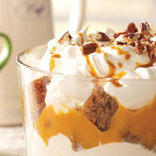 Gingerbread & Pumpkin Cream Trifle.