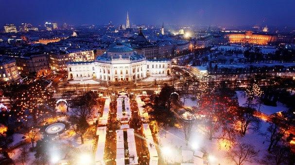 Réveillon em Viena, Áustria