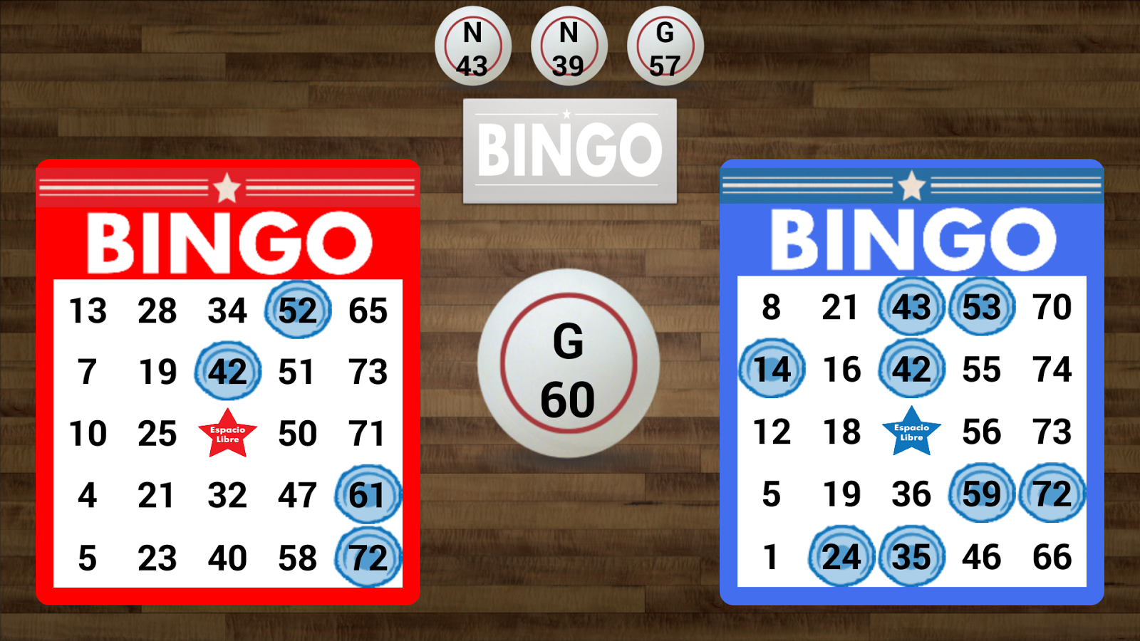 Basic Bingo- screenshot