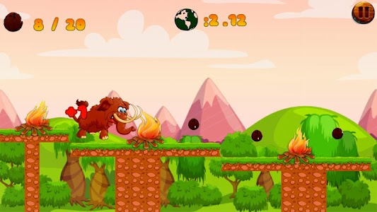 Jungle Mammoth Run screenshot 3
