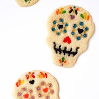 Dia de los Muertos Sugar Skull Cookies.