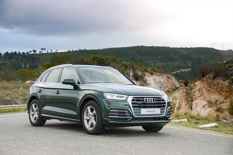 The new Audi Q5 has a fresher look with more athletic lines