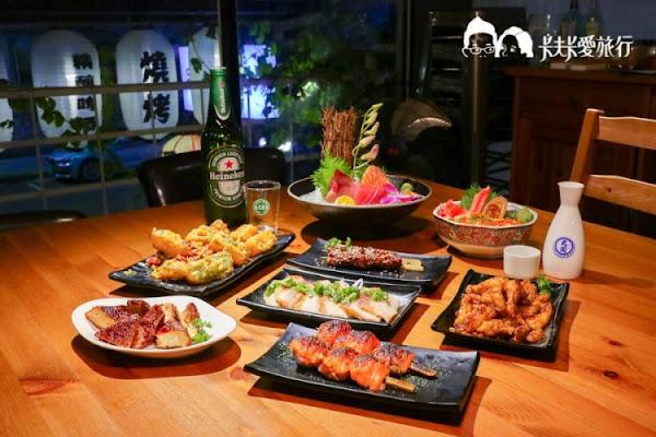 泗商食堂 高CP值串燒丼飯日式居酒屋!松江南京宵夜聚餐的餐廳