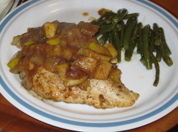 Curried Apple Chicken Saute Recipe