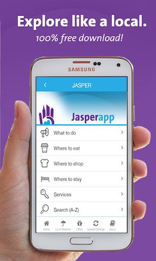 Jasper App - Alberta