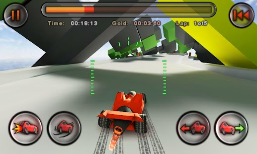 Jet Car Stunts Lite Screenshot