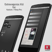 Extravaganza XIU for Klwp Po