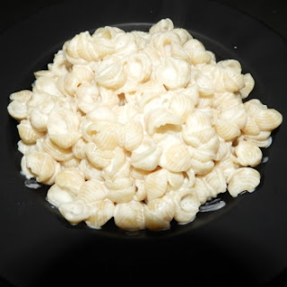 Cheese Macaroni Shell Pasta.