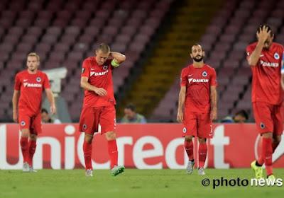 Le Club de Bruges ramasse un score de forfait à Naples !