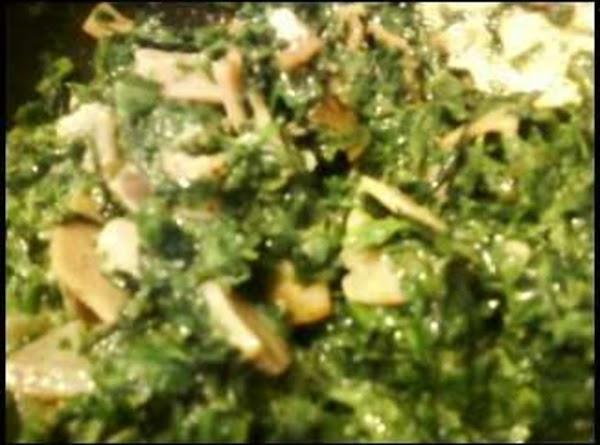 Cream Spinach In A Hurry... Recipe