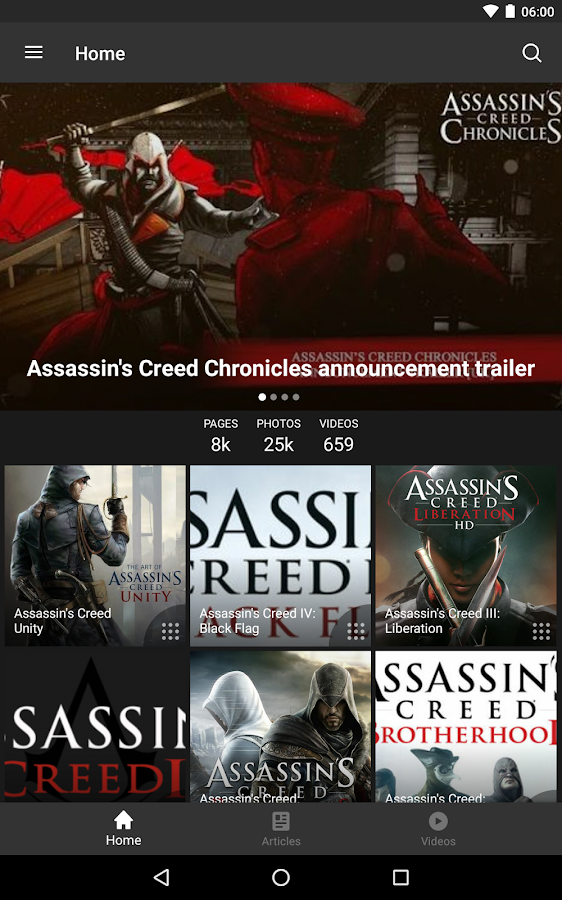 Fandom: Assassin's Creed- screenshot
