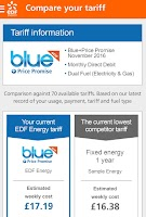 Screenshot of EDF Energy