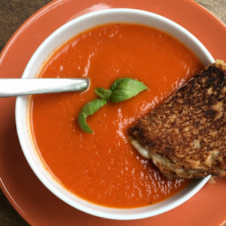 Easy Instant Pot Tomato Soup.