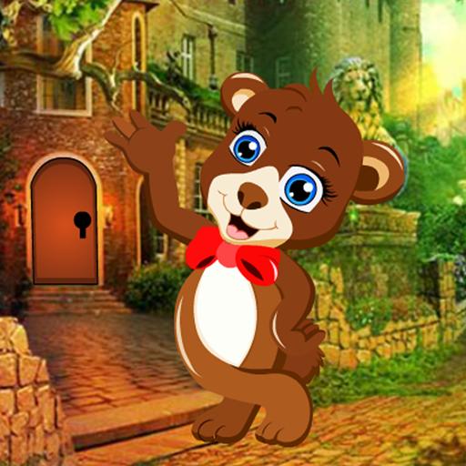 Bear Cub Rescue Best Escape Game-327