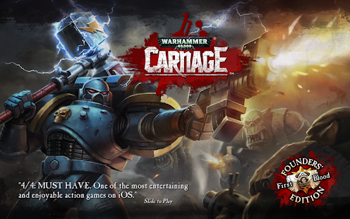Warhammer 40,000: Carnage - screenshot thumbnail