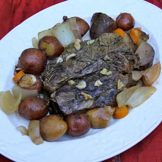 Classic Pot Roast with Lemon & Rosemary