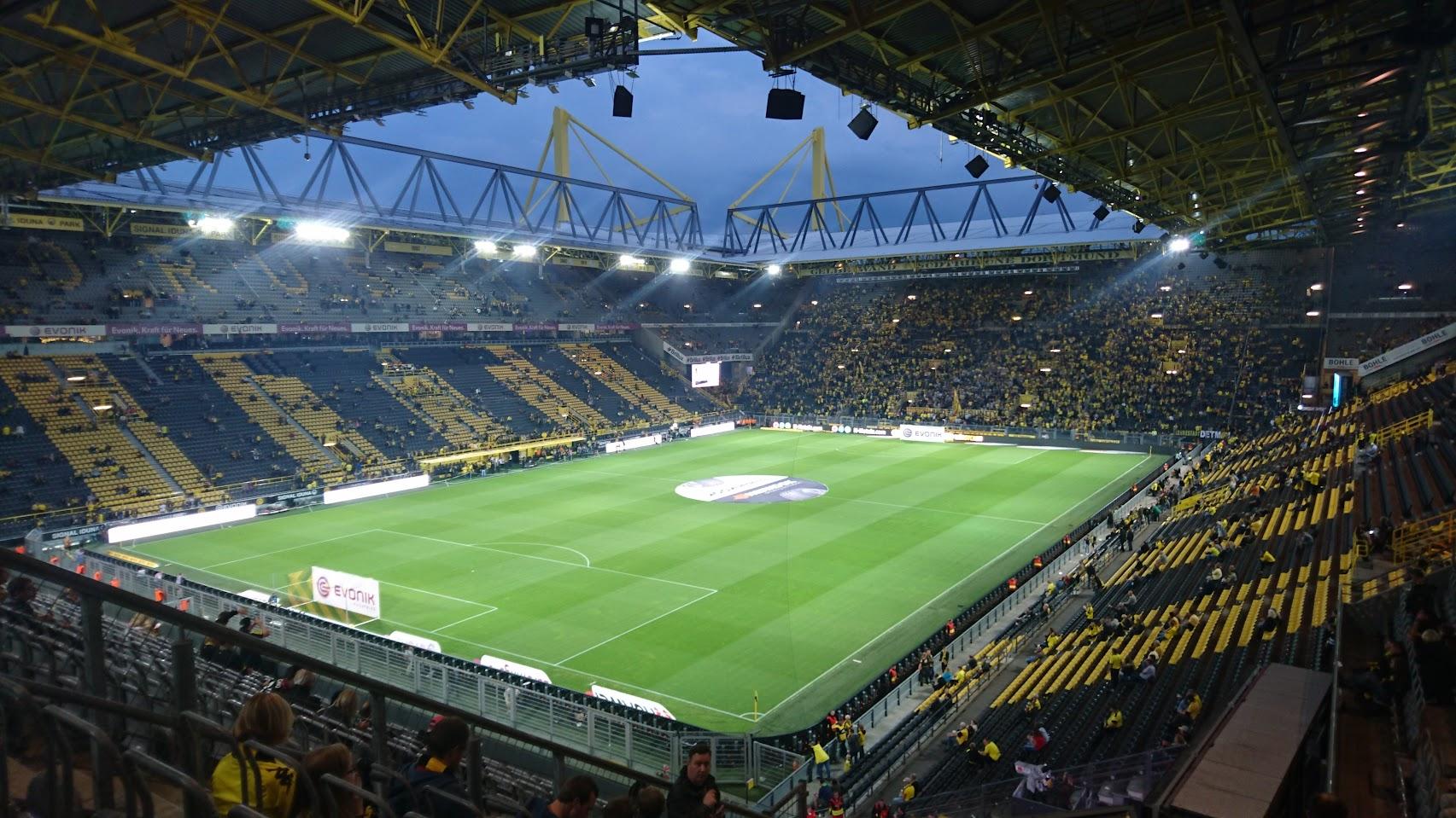 Borussia Dortmund gegen den SC Freiburg - wir waren live