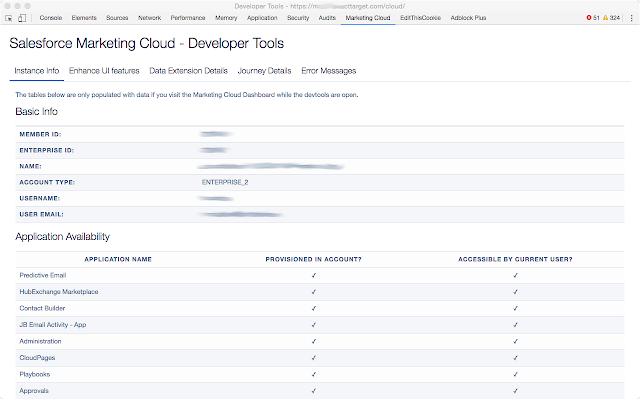 Salesforce Marketing Cloud - Developer Tools