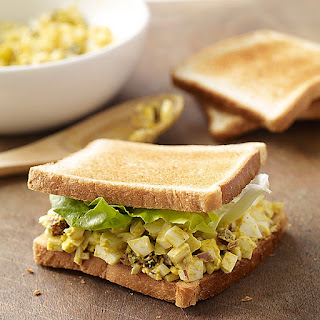 Curried Egg Salad Sandwiches Recipe