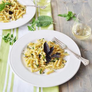 Fresh Herb Gemelli Pasta