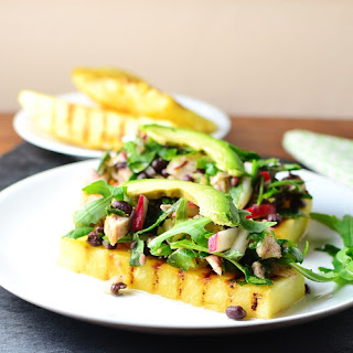 Grilled Pineapple Chicken Salad Recipe