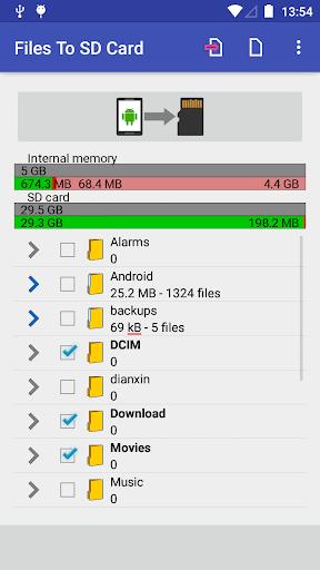 Files To SD Card 1.56 screenshots 5