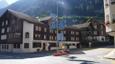 Photo: Fontos közlekedési csomópont /Közép-Svájc/