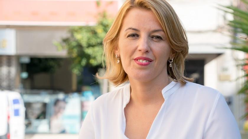 Sonia Ferrer, parlamentaria almeriense del PSOE.