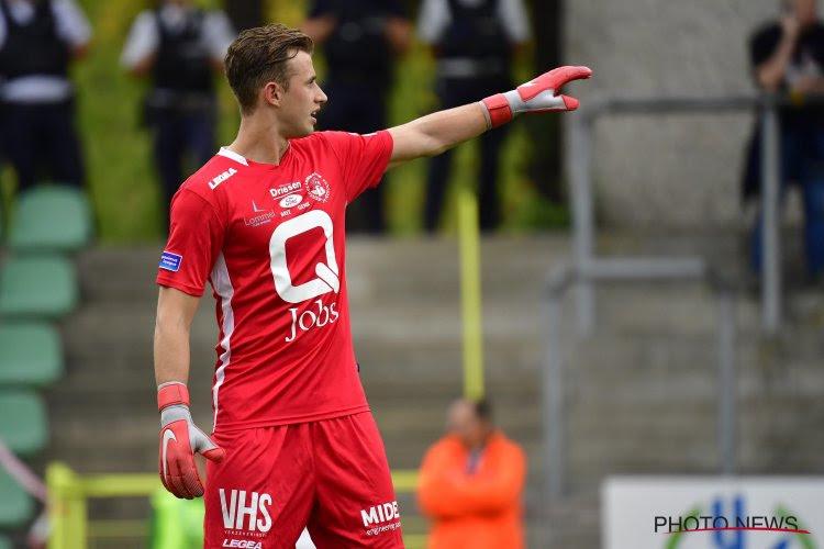 Genk-doelman Coucke is momenteel uitgeleend aan Lommel, maar heeft toekomstvisie