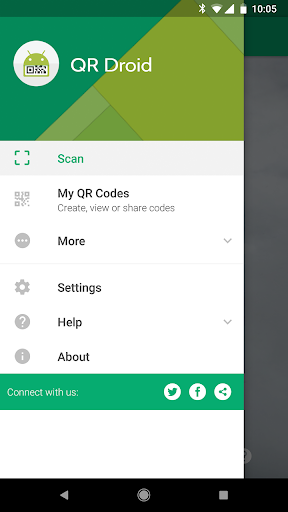 QR Droid 7.0.6 screenshots 1