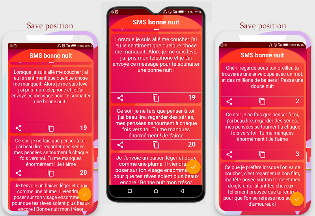 Sms Damour Donne Nuit Android Aplicaciones Appagg