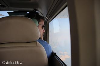 Photo: Captain Galde nyter utsikten