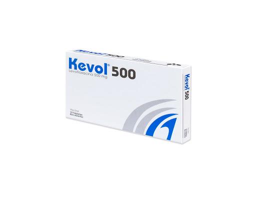 Levofloxacina Kevol 500mg 10 Tabletas