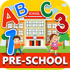 Preschool Learning ! Kids ABC, Number, Color games icon