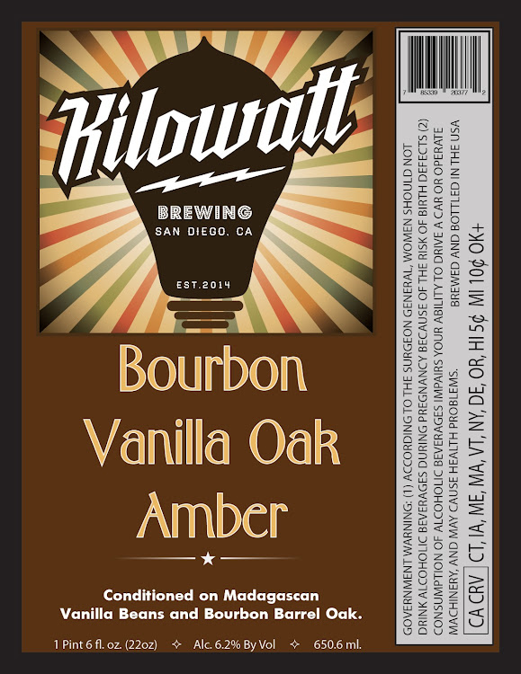 Logo of Kilowatt Bourbon Vanilla Oak Amber