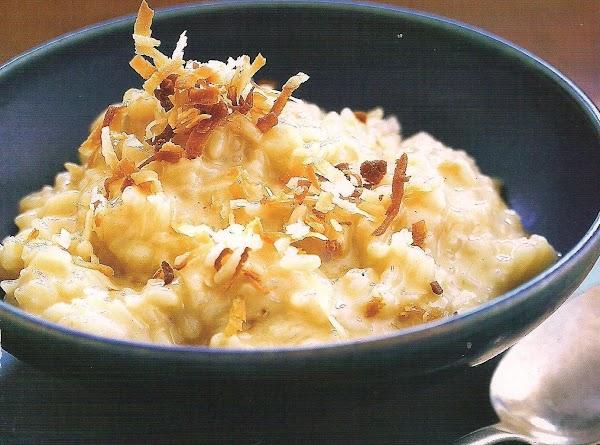 Coconut Rice Pudding Recipe