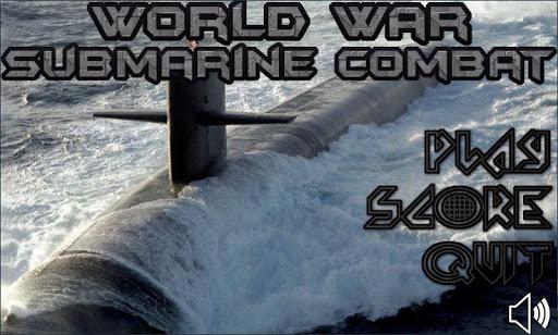 world war submarine combat