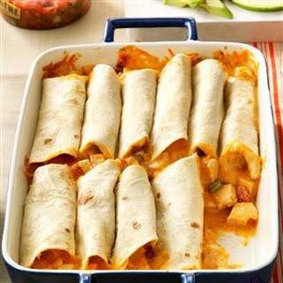 Chicken Burritos.