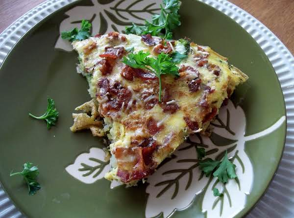 Broccoli  &  Bacon  Frittata