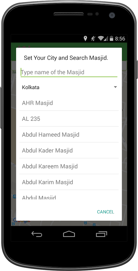 Masjid Finder- screenshot
