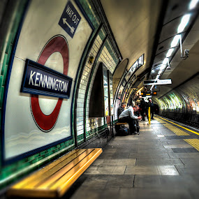 The Underground Station by Mark Shoesmith - Buildings & Architecture Architectural Detail ( london, hdr, station, tube, kennington, underground,  )