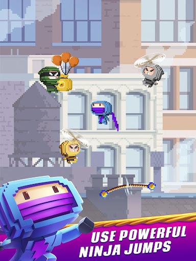 Ninja Up! - Endless arcade jumping  screenshots 13