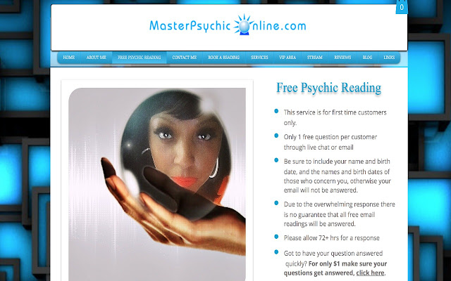 free psychic reading online no email
