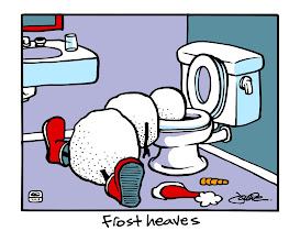"""Photo: """"Frost Heaves"""" T-shirt design"""