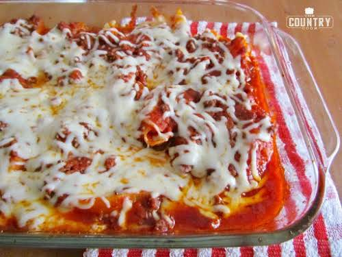 "Click Here for Recipe: Stuffed Shells ""This was SO good! And the..."
