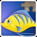 Puzzle de pescado para ninos icon