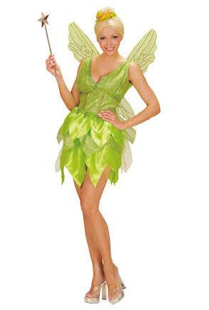 Fédräkt med vingar, grön