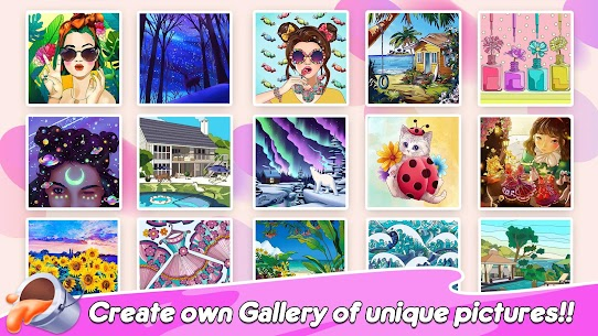 Home Paint: Design Home & Color by Number Apk Download For Android and Iphone 6