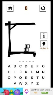 Hangman Classic - Black White Edition - náhled